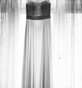 Свадебное платье кружево корсет 42-46