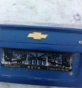 Крышка багажника на Шевроле Авео