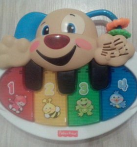 Пианино Fisher price щенок.
