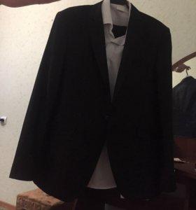 Костюм мужской.(пиджак,брюки,рубашка)