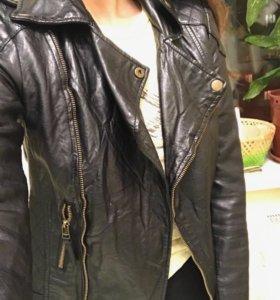 Кожаная куртка miss selfridge.