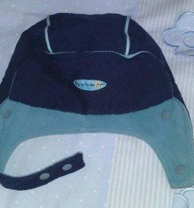 Шапка-шлем Mothercare, 12-24m.