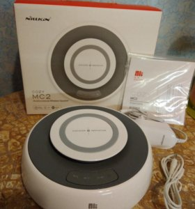 Bluetooth колонка+беспроводная зарядка Nillkin MC2