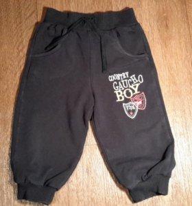Трикотажные брюки на рост 80 см. Б / У