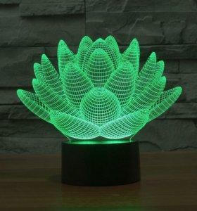 3 D светильник детский ночник сувенир