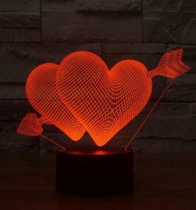 3D светильник сувенир ночник