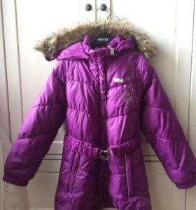Reima фирменная удлинённая куртка