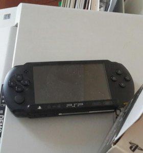 Прошитая PSP с играми на накопителе