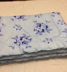 Одеяло новое с шелковым наполнителем 140*205