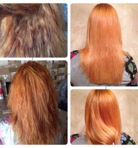 Гидропластика выпрямление волос