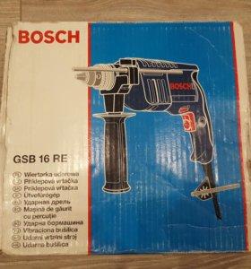 Ударная дрель Bosch GSB 16 RE