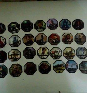 Карточки Звезные Воины