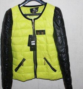 Новая куртка осень весна