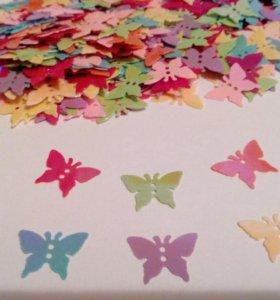 Бабочки паетки