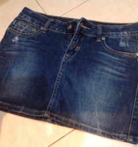 Юбка джинсовая женская р42-44