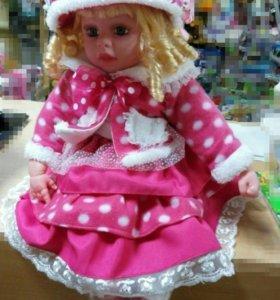 Кукла говорящая,  ИНТЕРАКТИВНАЯ, 60 см