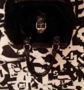 Новая сумка из натурального меха