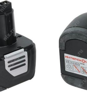 аккумулятор 1215C 12в 1.5Ач Ni-Cd Интерскол+З/У