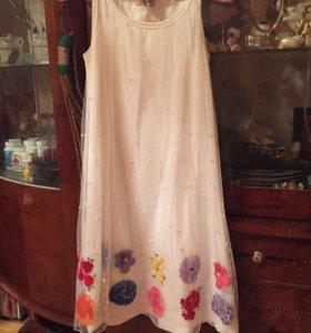 """Платье """"Monnalisa"""" для девочек."""