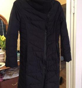 Классное пальто теплое