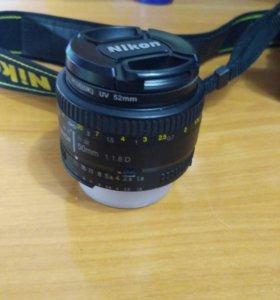 Продам Nikon 50mm f/1.8 D AF