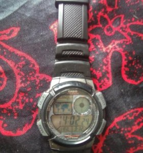 Часы casio salarms WR100M