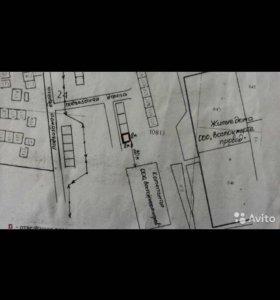 Земельный участок под строительство гаража