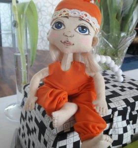 Кукла текстильная, шарнирная