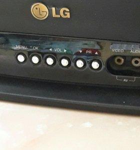 Телевизор LG диагональ экрана 54см