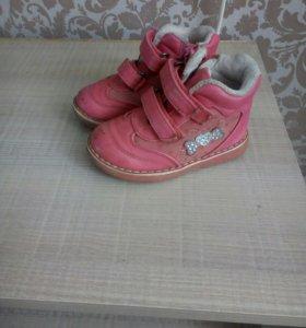 Ботиночки, обувь на девочку