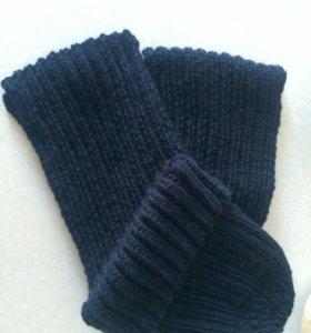 Мужской комплект-шапка и шарф