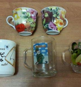 Кружки и чашки