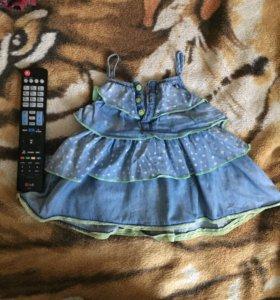 Детское летнее платье geobyG