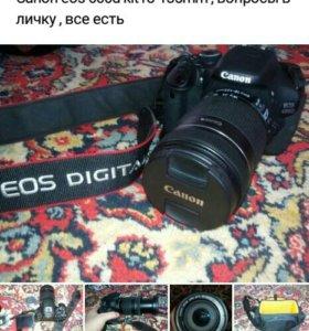 Canon eos 600d kit 18_135mm профессиональный фотик