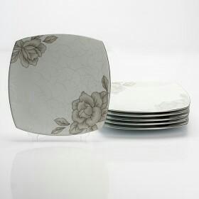 Набор тарелок .Фарфоровый набор,ТМ ,,kaburi,,