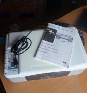 МФУ HP копирование,сканирование и печать