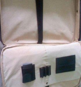 Сумка для документов и ноутбука кожа