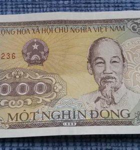 Банкнота Вьетнама 1000