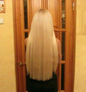 Наращивание волос (горячее, ленточное)