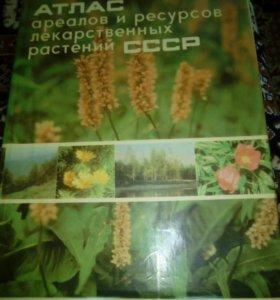 Атлас ареалов и ресурсов лекарственных растений
