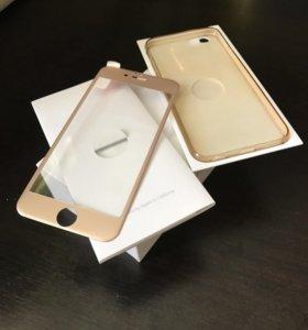 Коробка от iPhone 6 64gb gold + бонус