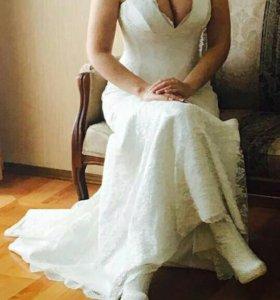 """Свадебное платье"""" slanovskiy"""""""
