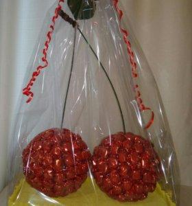 Огромные Вишни из конфет- 2,3 кг