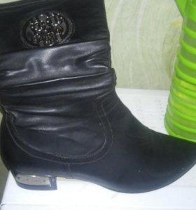 Продам женские сапоги новые.