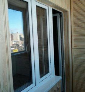 Отделка балкона (лоджия)