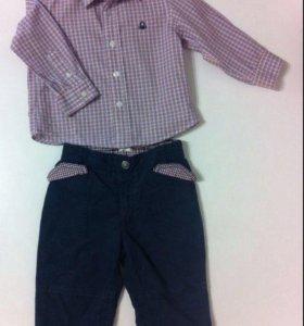Рубашка и брюки Beneton