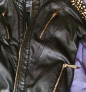 Куртка кожа натур