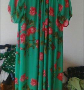 Платье  новое,  длина в пол