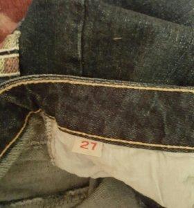 Юбка и шорты джинсовые