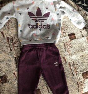 Adidas костюм и футболка